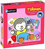 Nathan - 31009 - Jeu de société - Jeu éducatif - Premiers Jeux T'choupi