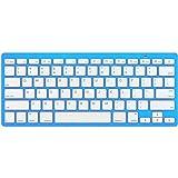 ROCKSOUL BK-101 Bluetooth Keyboard Baby Blue