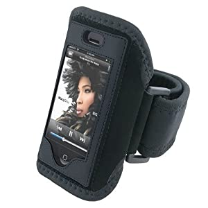Sport Armband Case Cover (Black) For iPhone 3G by Eforcity