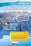 Wintersport im Thüringer Wald: 3-teiliges Kartenset Maßstab 1:50 000