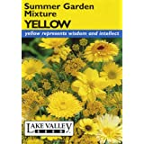 Lake Valley 3946 Summer Garden Mixture Yellow Seed Packet