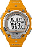 Timex Men's Ironman Shock Steel 30-Lap Watch, Orange Resin Strap