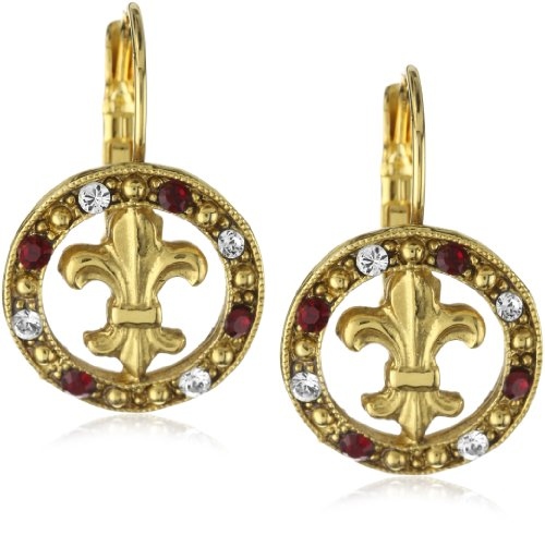 The Vatican Library Collection Blessed Flower Of The Lily Earrings