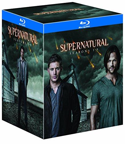 SUPERNATURAL <ファースト~ナイン・シーズン> ブルーレイ ボックス(初回限定生産/35枚組) [Blu-ray]