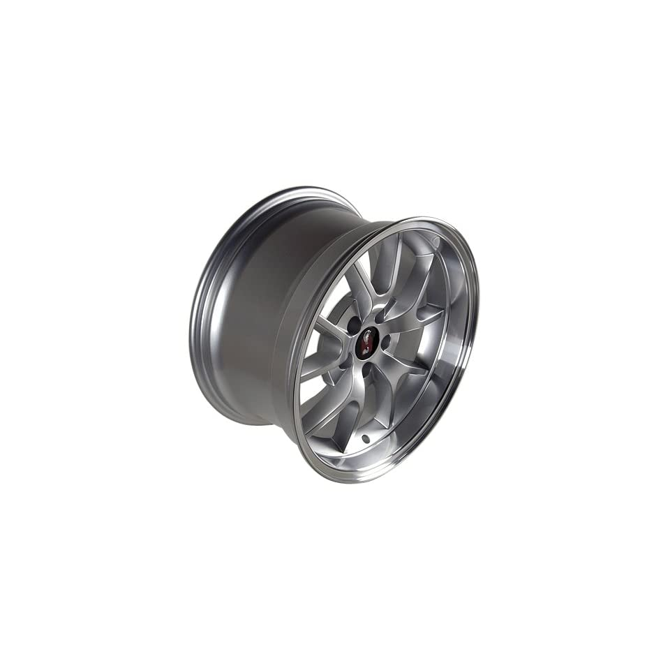 Ford Mustang FR500 Silver Style Wheels Rims 1994 1995 1996 1997 1998 1999 2000 2001 2002 2003 2004 2005 94 95 96 97 98 99 00 01 02 03 04 05