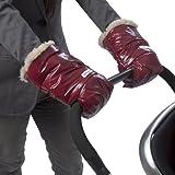 7 A.M. Enfant Stroller Hand Warmers Warmmuffs For Parents And Caregivers (Bordeaux)