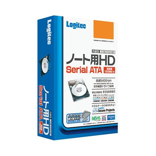 【Amazonの商品情報へ】Logitec Serial ATA内蔵型HD 250GB (2.5型) LHD-NA250SAK