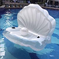 Z-Feel Giant Shell Inflatable Pool Float