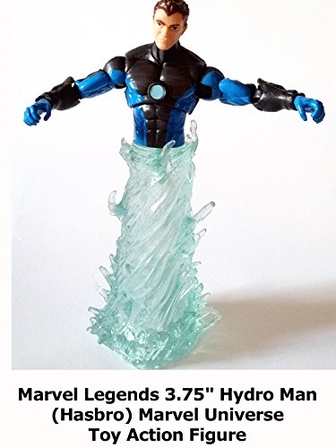 "Review: Marvel Legends 3.75"" Hydro Man (Hasbro) Marvel Universe Toy Action Figure"