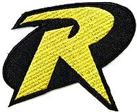 Robin Batman Movie Cartoon Logo Kid Baby Boy Jacket T shirt Patch Sew Iron on Embroidered Symbol Badge Cloth Sign Costume By Prinya Shop from PRINYA SHOP