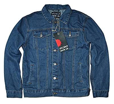 Villainy Denim Co Men's Denim Jacket