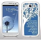 Samsung Galaxy S3 Case - Christian Theme - Isaiah 41:10 - White Protective Hard Case