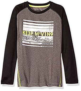 Reebok Boys 39 Long Sleeve Active T Shirt