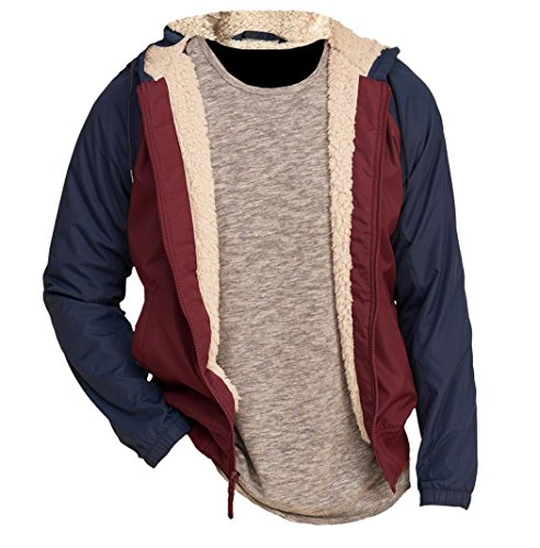 hollister-herren-all-weather-sherpa-hoodie-jacke-grosse-x-large-weinrot-624407597