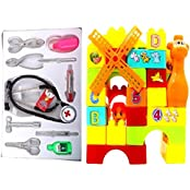 New Pinch Docter Play Set With 35pcs. Building Blocks For Kids