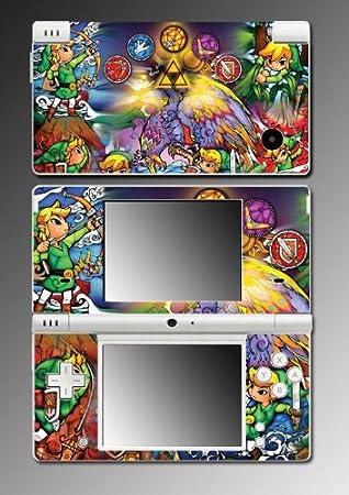 Legend of Zelda Skyward Sword Twilight Princess Link Decal SKIN 1 for Nintendo DSi