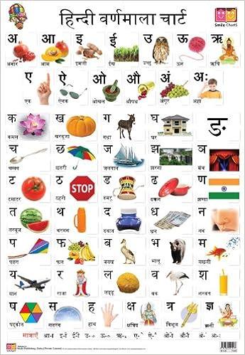 Buy Hindi Alphabet (Front & Back) (Educational Wall Charts) Book ...
