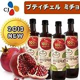 韓国食品]2013 新しくリニューアルした プティチェル ミチョ 美酢(ミチョ) 900ml x 6本セット