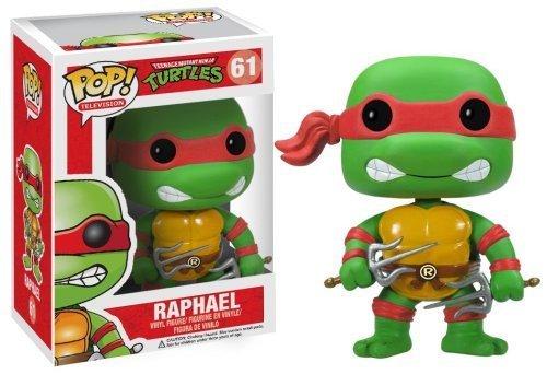 """Raphael: ~3.7"""" Funko POP! TMNT Vinyl Figure - 1"""