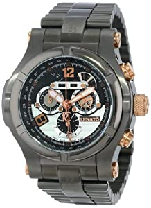 Renato Men's TIGR-A-TIGR-5040 T-Rex Gen II Innovative Multiple Piece Case Design Watch