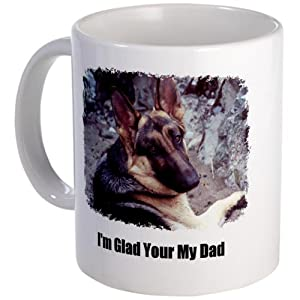 GLAD YOUR MY DAD Mug by CafePress