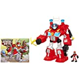 Transformers Rescue Bots Playskool Heroes Electronic Heatwave The Fire-Bot Set