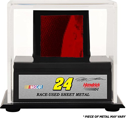 jeff-gordon-display-case-with-race-used-sheet-metal-fanatics-authentic-certified-nascar-unsigned-rac