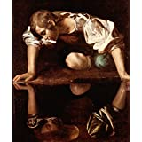The Museum Outlet - Narcissus By Caravaggio - Canvas Print Online Buy (24 X 32 Inch)