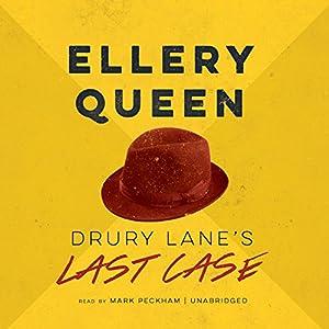 Drury Lane's Last Case Audiobook