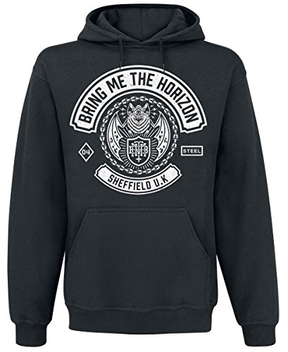 Bring Me The Horizon Chained Bat Felpa con cappuccio nero L