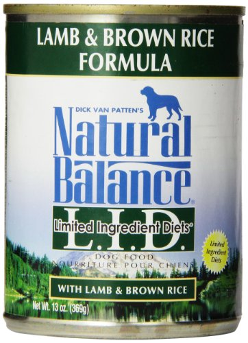 Natural Balance Dog Food Lamb And Brown Rice