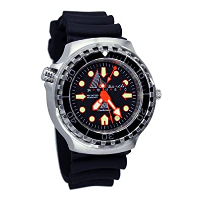 Amazon.com: Tauchmeister T0249 GMT XL 1000m Dive Watch ...