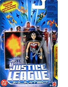 Justice League Unlimited Action Figure Planet Patrol Wonder Woman