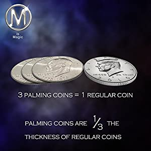 Dollar Size Palming Coin **FOR PROFESSIONAL MAGICIANS ONLY***