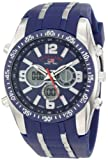 U.S. Polo Assn. Sport Mens US9284 Blue Analog-Digital Chronograph Watch