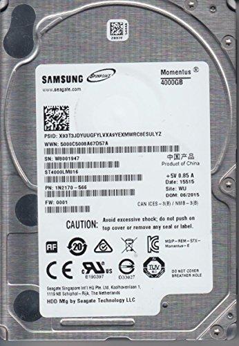 Samsung Momentus (ST4000LM016) 4TB Internal Hard Drive