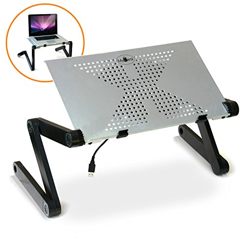 DJcool PC Laptop Notebook DJ Riser Stand w/ XL 7.5