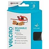 Velcro Self Gripping Ties 30mm x 5m Black VEL60254by Velcro