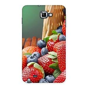Impressive Delicious Straberry Multicolor Back Case Cover for Galaxy Note