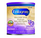 Enfagrow Toddler Transitions Gentlease, Milk-Based Powder with Iron, 21 Ounce