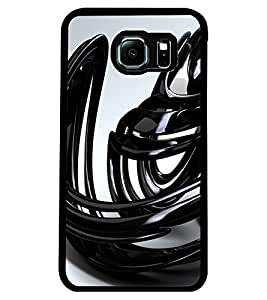 ColourCraft Abstract Image Design Back Case Cover for SAMSUNG GALAXY S6 EDGE