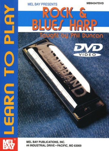 Learn to Play Rock & Blues Harp [DVD] [Import]