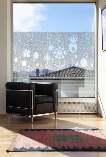 dekorfolie fensterfolie fenstertattoo selbstklebender sichtschutz. Black Bedroom Furniture Sets. Home Design Ideas
