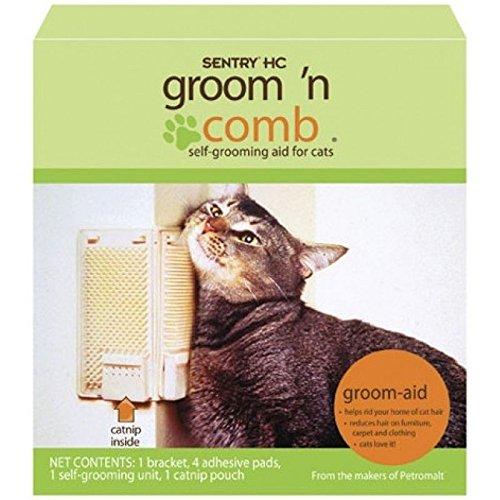 sentry-groom-n-comb-catnip-cat-self-grooming-aid-kitty-korner-komber-grooming-brush-with-catnip