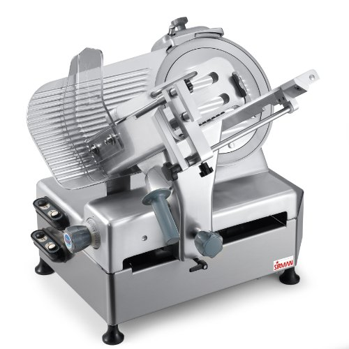 Sirman 153344G18Na Palladio 330 Automec Semi Automatic Commercial Food Slicer, 13-Inch