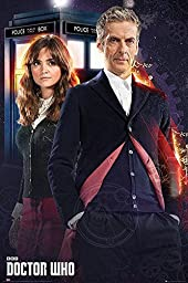 1 X Doctor Who Poster Doctor & Clara (24\