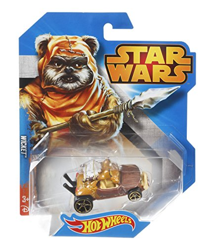 Hot Wheels, Star Wars Character Car, Wicket