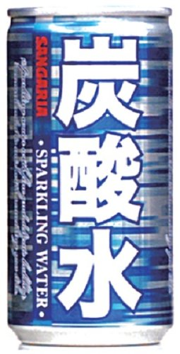 Sangaria carbonated water 185ml×30 books