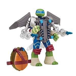 Teenage Mutant Ninja Turtles Teenage Mutant Ninja Turtles Mutations Leonardo with Aerial Attack Battle Shell Action Figure
