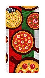 ZAPCASE PRINTED BACK COVER FOR MICROMAX FIRE 4 A107 Multicolor